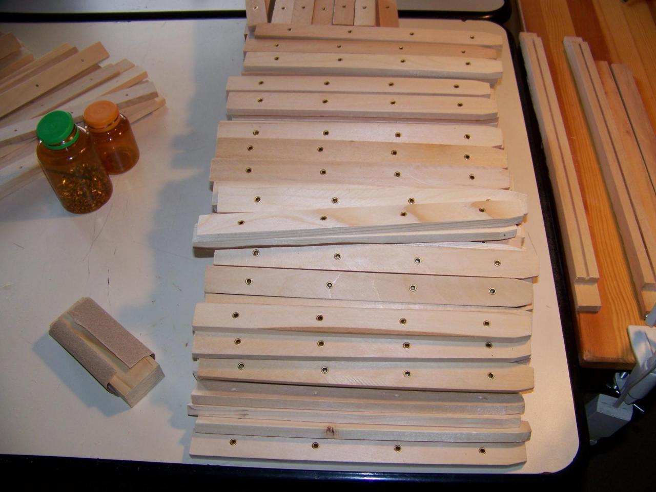 Cadre de ruches à monter